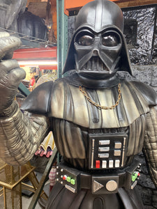 Black Space Warrior Life Size Statue - LM Treasures