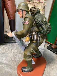 American Soldier Small Statue - LM Treasures