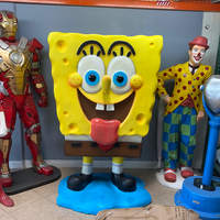 Happy Sponge Over Sized Statue - LM Treasures