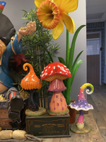 Jelly Mushroom Over Sized Statue - LM Treasures Life Size Statues & Prop Rental