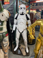 White Space Warrior Life Size Statue - LM Treasures