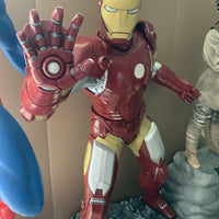 Iron Man Statue w/ Working Lights - LM Treasures Life Size Statues & Prop Rental