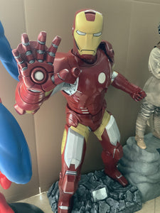 Iron Man Life Size Statue - LM Treasures