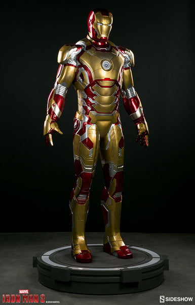 Iron Man Mark 42 Sideshow Life Size Statue - LM Treasures Life Size Statues & Prop Rental