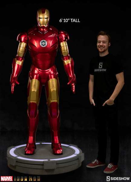 Iron Man Mar III Sideshow Life Size Statue - LM Treasures Life Size Statues & Prop Rental