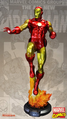 Classic Iron Man Life Size Statue - Coming Soon- LM Treasures