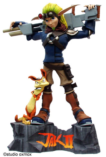 Jack & Daxter II Rare Life Size Statue - LM Treasures