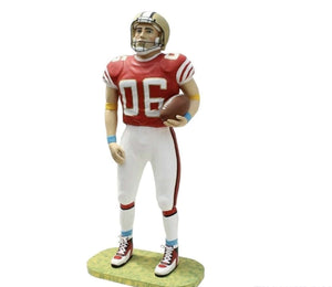 American Football Player Life Size Movie Prop Decor Statue- LM Treasures