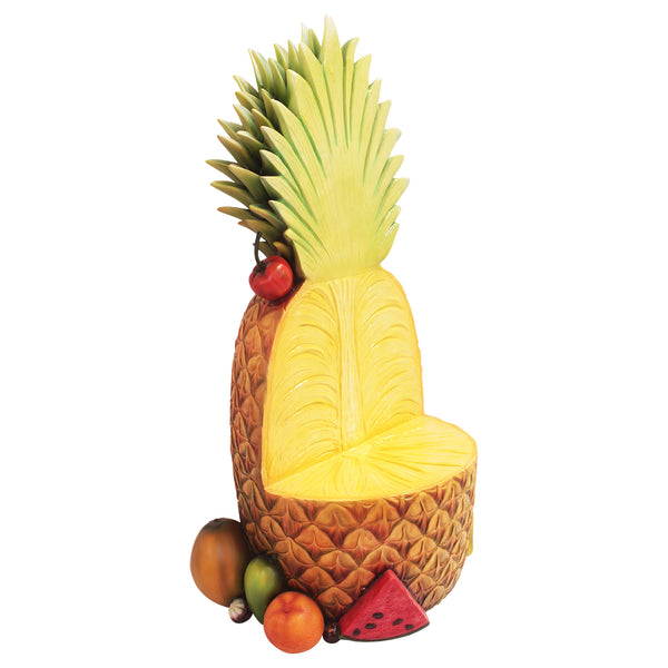 Pineapple Chair Over sized Display Resin Prop Decor Statue - LM Treasures Life Size Statues & Prop Rental