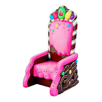 Candy Throne Life Size Statue - LM Treasures Life Size Statues & Prop Rental