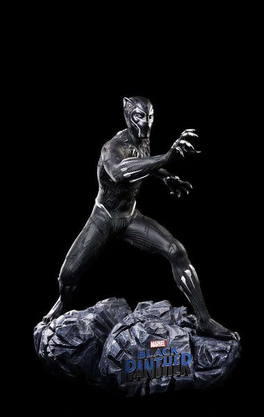 Marvel Black Panther  Life Size Statue T'Challa - LM Treasures Life Size Statues & Prop Rental