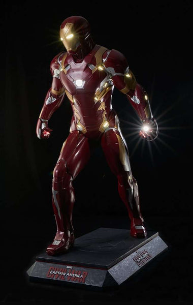 Iron Man Life Size Statue From Captain America: Civil War - LM Treasures