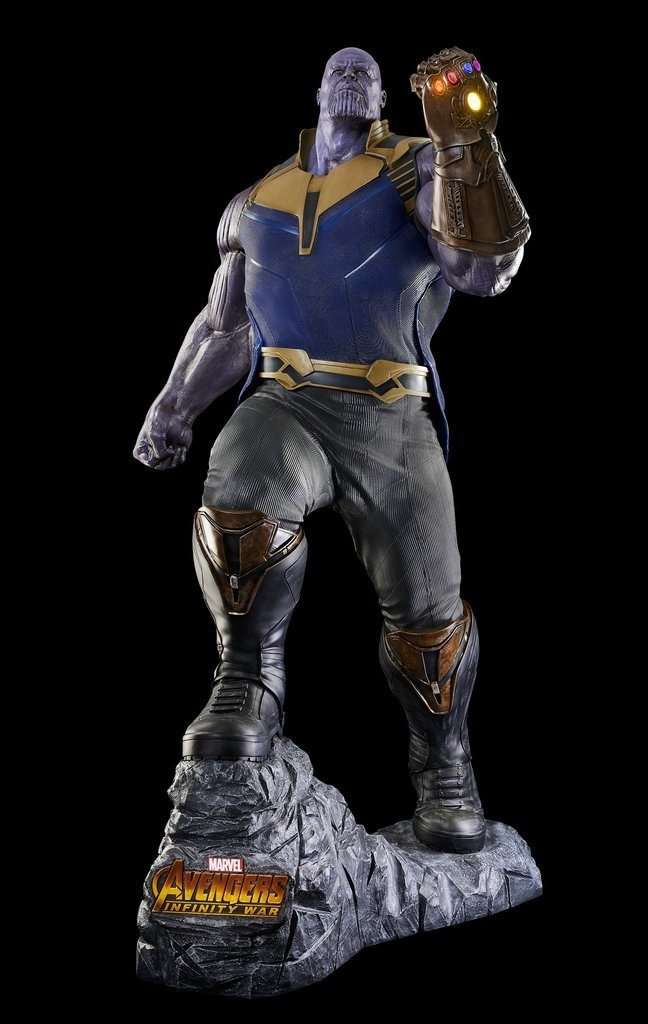 Avengers Infinity War - Life Size Thanos Statue - LM Treasures Life Size Statues & Prop Rental