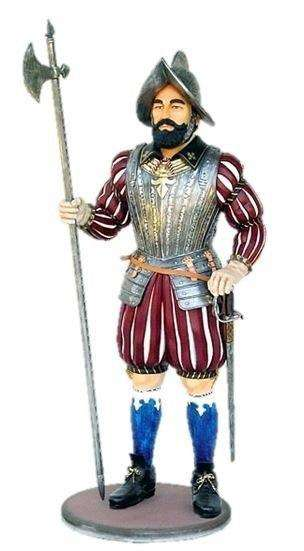 Knight Spanish Life Size Statue - LM Treasures Life Size Statues & Prop Rental