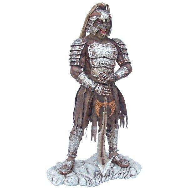 Mythical Soldier Standing Life Size Prop Decor Statue - LM Treasures Life Size Statues & Prop Rental
