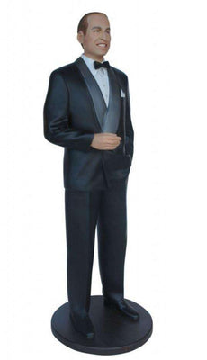 Celebrity Prince William Duke of Cambridge Prop Decor Statue - LM Treasures Life Size Statues & Prop Rental