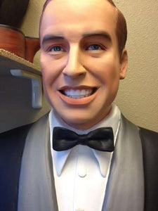 Prince William Duke of Cambridge Life Size Statue - LM Treasures Life Size Statues & Prop Rental