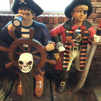 Pirate Child Boy  Life Size Statue Resin Decor - LM Treasures Life Size Statues & Prop Rental
