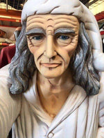 Old Man With Lantern Life Size Prop Decor Resin Statue - LM Treasures Life Size Statues & Prop Rental