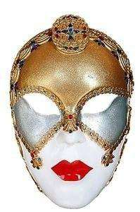 Mask Venice Female Circus Wall Decor Statue - LM Treasures Life Size Statues & Prop Rental