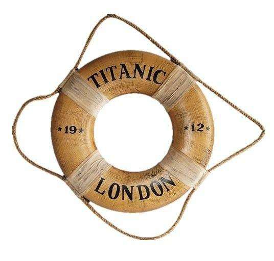 Pirate Prop Life Saver Titanic Statue Resin Nautical Decor - LM Treasures Life Size Statues & Prop Rental