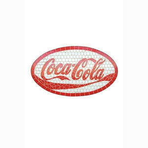 Sign Coca Cola Coke Looks LIKE MOSAIC Wall Plaque Decor - LM Treasures Life Size Statues & Prop Rental