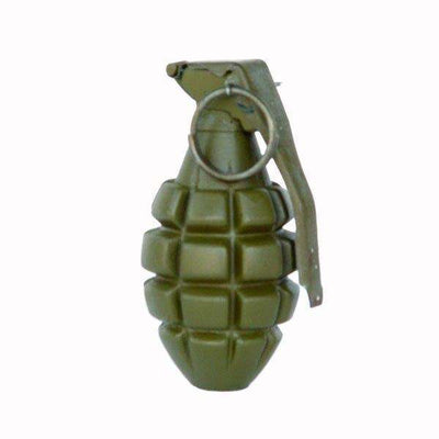 Army Grenade Statue Display Prop Not Real  Papper weight- LM Treasures