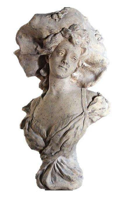 Stone Bust Suzanne Greek Roman Prop Resin Decor- LM Treasures