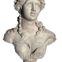 Stone Bust Sabine Greek Roman Prop Resin Decor - LM Treasures Life Size Statues & Prop Rental