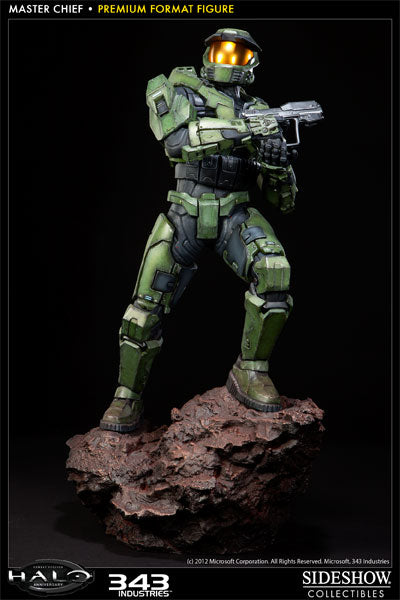 Halo Master Chief Premium Format™ Figure #165 Sideshow Statue - LM Treasures Life Size Statues & Prop Rental