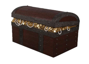 War Treasure Chest Life Size Statue - LM Treasures Life Size Statues & Prop Rental