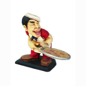 Chef Italian Cook Small Prop Restaurant Decor Resin Statue - LM Treasures - Life Size Statue