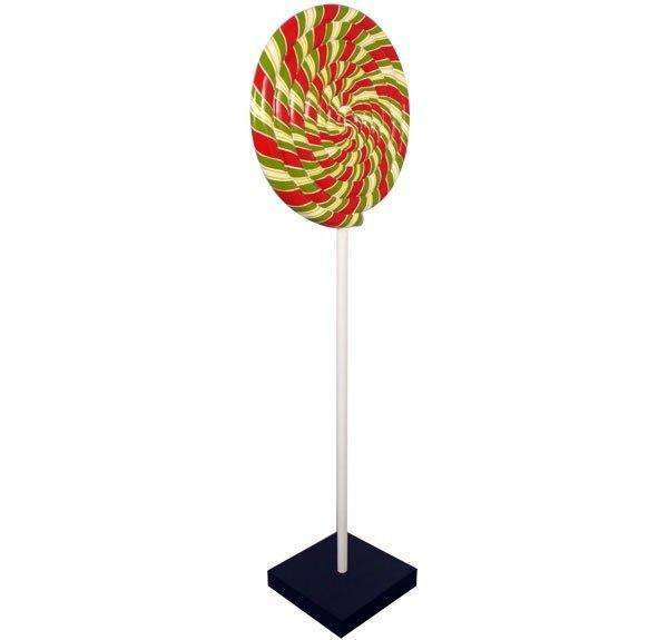Swirl Lollipop Over Sized Statue - LM Treasures Life Size Statues & Prop Rental