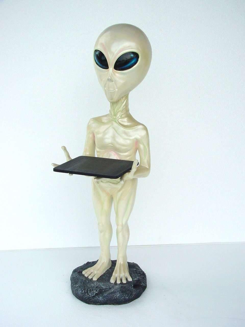 Alien Butler Standing Space Statue Prop Decor Life Size Resin - LM Treasures