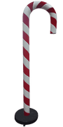 Candy Cane 220cm Red and White Over sized Display Resin Prop Decor Statue - LM Treasures - Life Size Statue