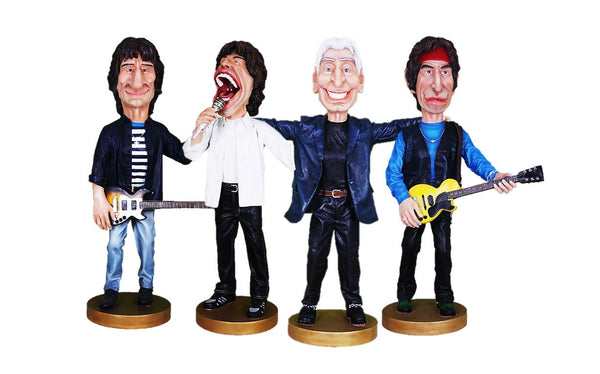 Stones Caricature Set Life Size Statue - LM Treasures Life Size Statues & Prop Rental