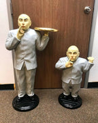 Austin Powers Mini Me Butlers Set of 2 Life Size Statues- LM Treasures