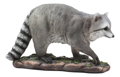 Rodent Raccoon Walking Forest Prop Resin Decor Statue - LM Treasures Life Size Statues & Prop Rental