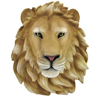 Lion Head Life Size Statue - LM Treasures