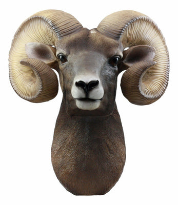 Ram Head Jungle Animal Prop Life Size Resin Statue - LM Treasures Life Size Statues & Prop Rental