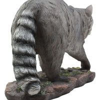Raccoon Walking Life Size Statue - LM Treasures