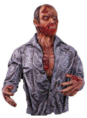 Zombie Halloween Statue Life Size Prop Wall Decor - LM Treasures Life Size Statues & Prop Rental