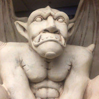 Mythical Gargoyle Standing Halloween Life Size Prop Decor Statue - LM Treasures Life Size Statues & Prop Rental