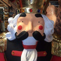 Nutcracker Soldier 6ft Life Size Resin Christmas Statue - LM Treasures Life Size Statues & Prop Rental