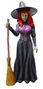 Comic Pretty Witch Life Size Decor Prop Statue- LM Treasures