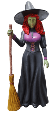 Comic Pretty Witch Life Size Decor Prop Statue - LM Treasures - Life Size Statue