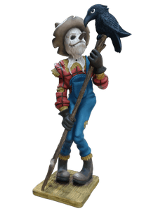 Comic Scarecrow Life Size Decor Prop Statue - LM Treasures Life Size Statues & Prop Rental