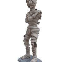 Comic Mummy Life Size Decor Prop Statue - LM Treasures Life Size Statues & Prop Rental