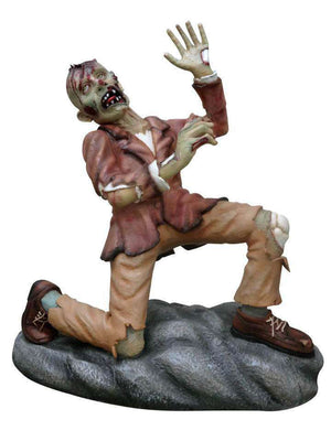 Zombie Halloween Photo Op Statue Life Size Prop Decor - LM Treasures Life Size Statues & Prop Rental