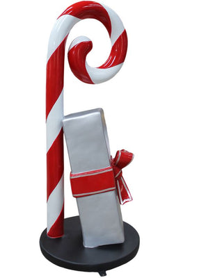 Candy Cane Gift Boxe (1) - LM Treasures Life Size Statues & Prop Rental